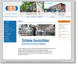 Website: EFT - Eilenburger Fenstertechnik